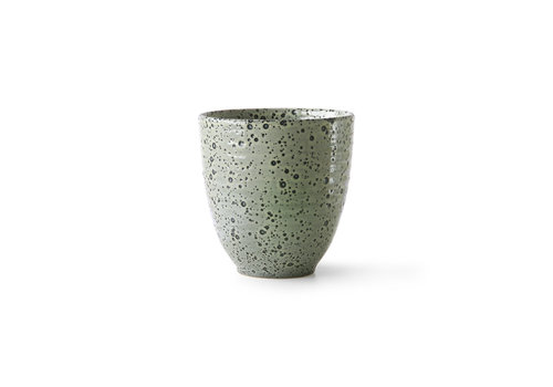 HKLIVING gradient ceramics: mug green