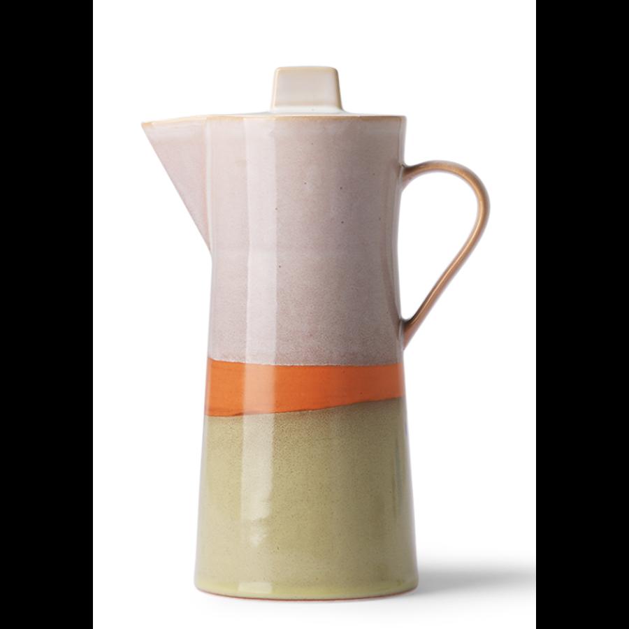 ceramic 70's coffee pot-1