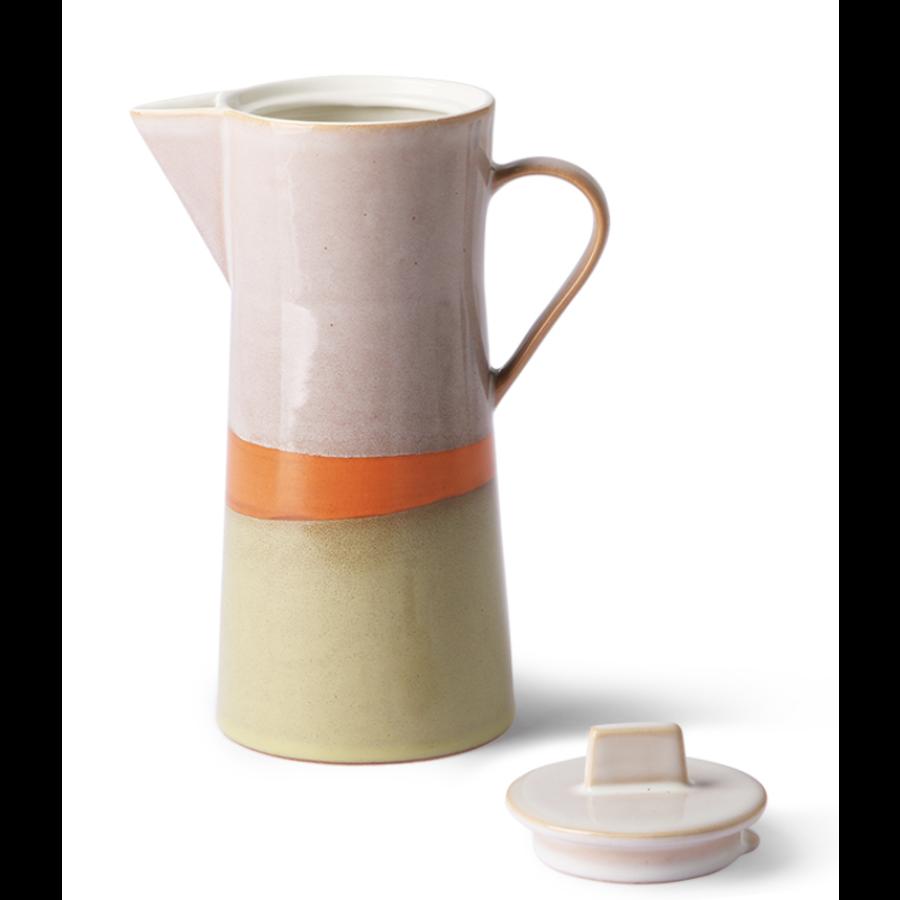 ceramic 70's coffee pot-2
