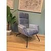 THUISHAVEN TH fauteuil Isabel Grijs