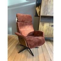 thumb-TH fauteuil Mia Bordeaux Rood-1