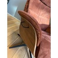 thumb-TH fauteuil Mia Bordeaux Rood-2