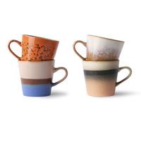 thumb-ceramic 70's americano mugs(set van 4 stuks ju/pa/sk/to-1