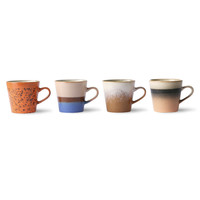 thumb-ceramic 70's americano mugs(set van 4 stuks ju/pa/sk/to-2