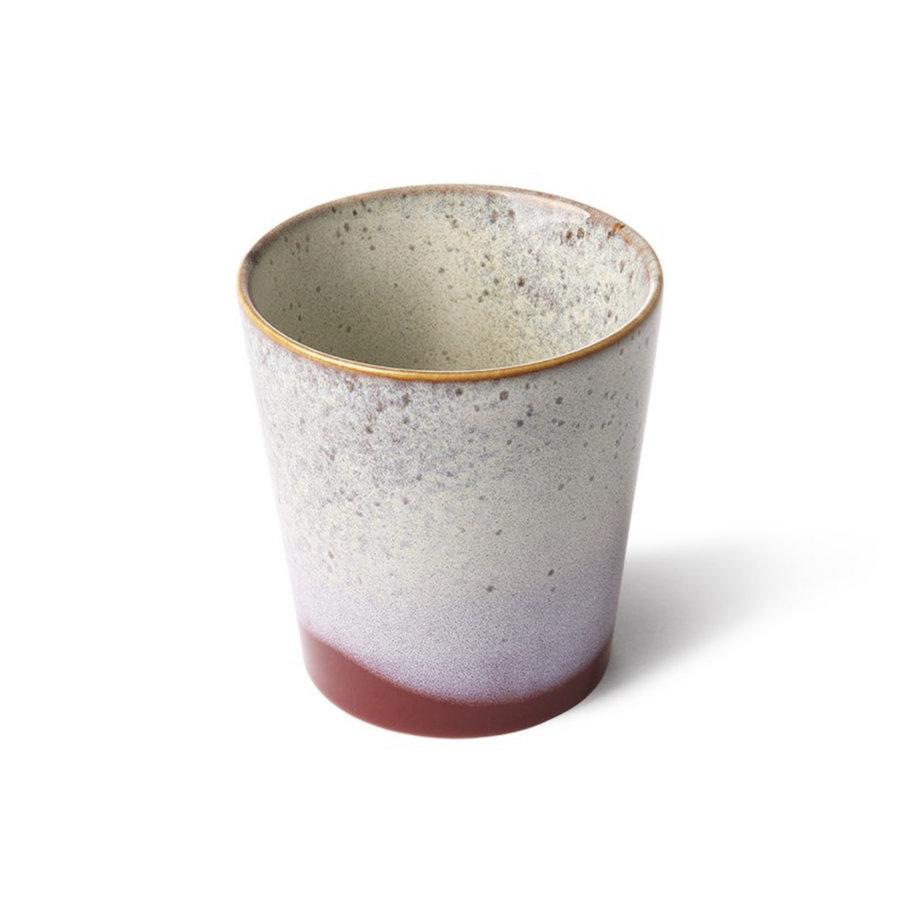ceramic 70's mug: frost-2