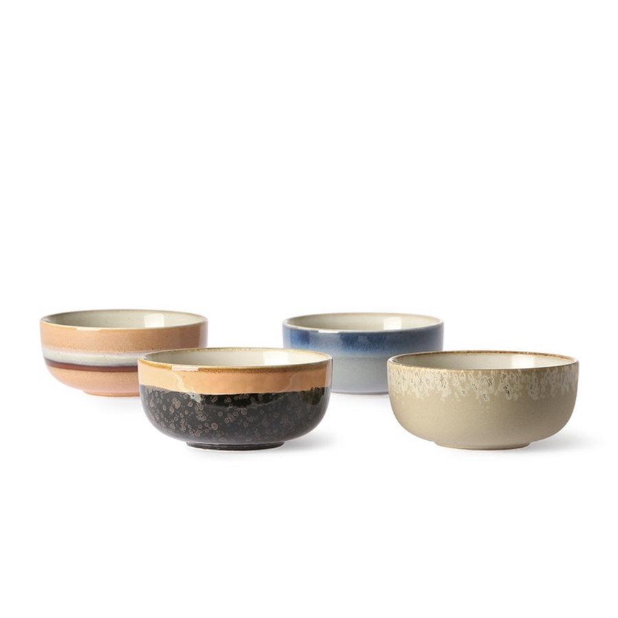 ceramic 70's bowls medium (set of 4) ba/st/la/oc-2
