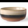 HKLIVING ceramic 70's dessert bowls p/st  6956b Tornado