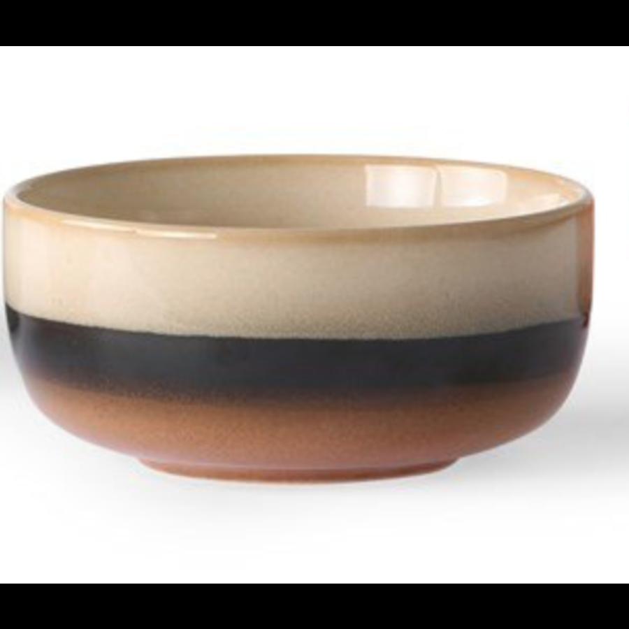 ceramic 70's dessert bowls p/st  6956b Tornado-1