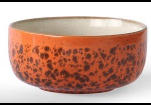 HKLIVING ceramic 70's dessert bowls p/st  6956c Panther