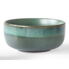 HKLIVING ceramic 70's dessert bowls p/st  6956d moss