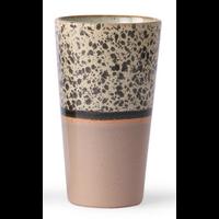 ceramic 70's latte mug  p/st reef 6953a