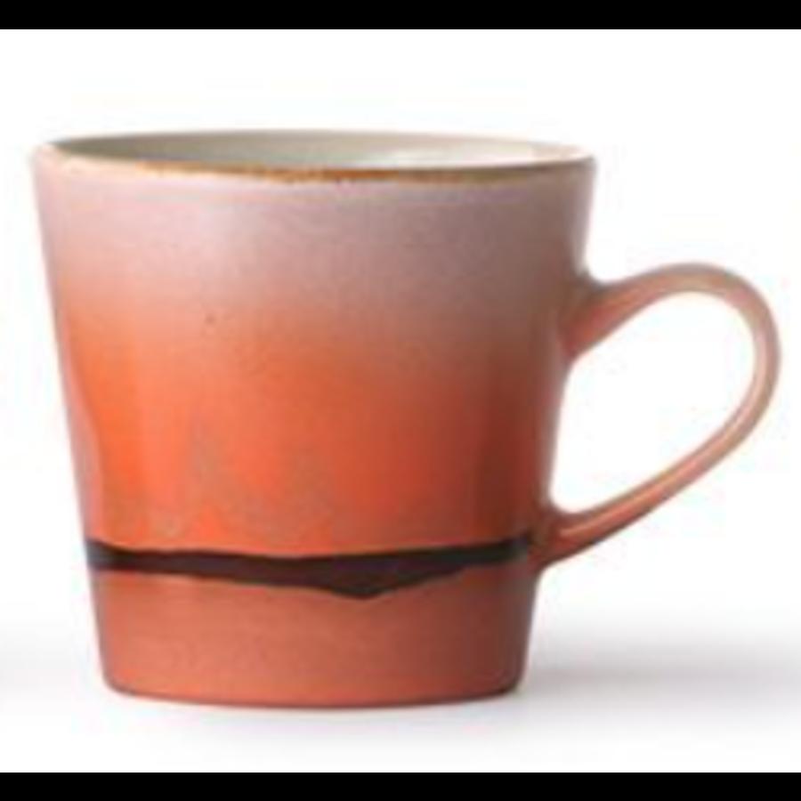 ceramic americano 70's mug mars ace6920b-1