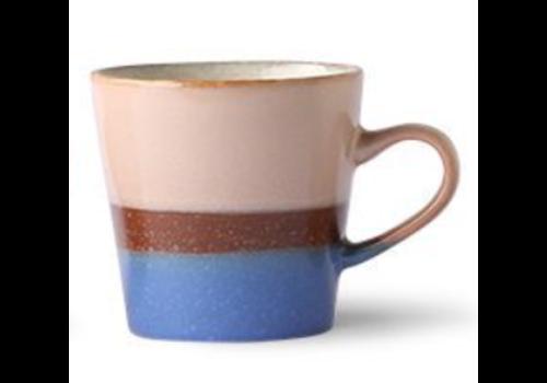 HKLIVING ceramic americano 70's mug Pool ace6971B
