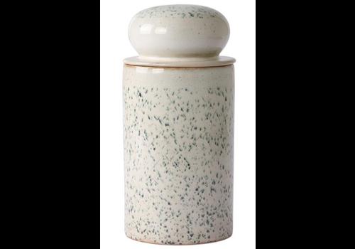 HKLIVING ceramic 70's storage jar: hail ace6959