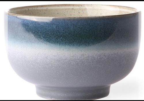 HKLIVING ceramic 70's noodle bowl ocean ace6062