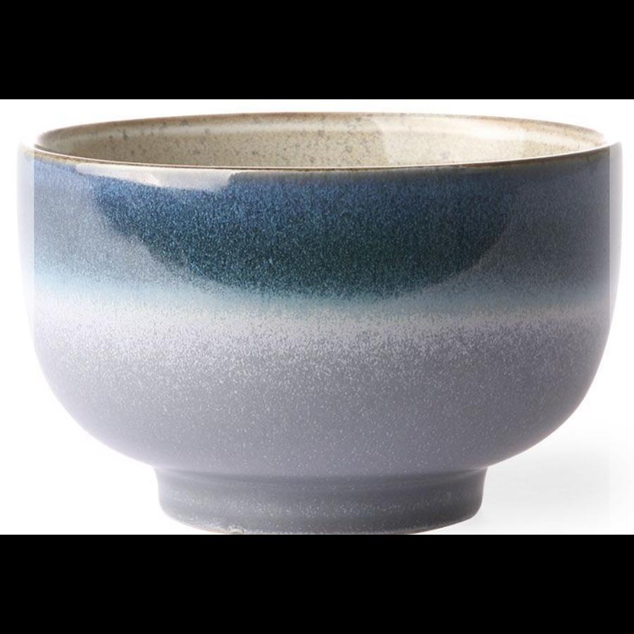 ceramic 70's noodle bowl ocean ace6062-1