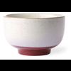 HKLIVING ceramic 70's noodle bowl frost ace6875