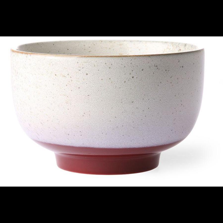 ceramic 70's noodle bowl frost ace6875-1
