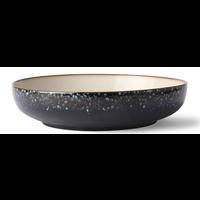 ceramic 70's salad bowl: galaxy