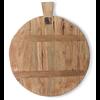 HKLIVING bread board reclaimed teak medium hav0005