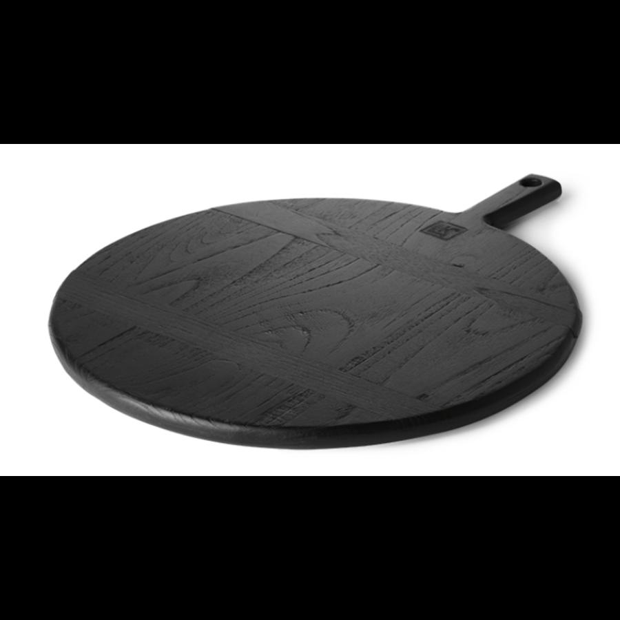 black breadboard round M-1