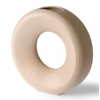 HKLIVING ceramic circle vase L sand ace6960