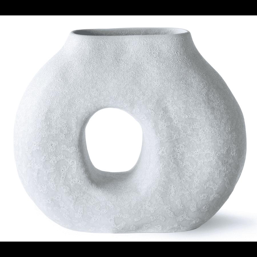 organic circle vase matt ice blue-1