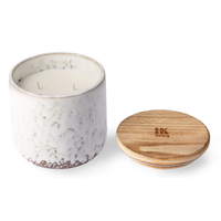 ceramic scented candle: northern soul