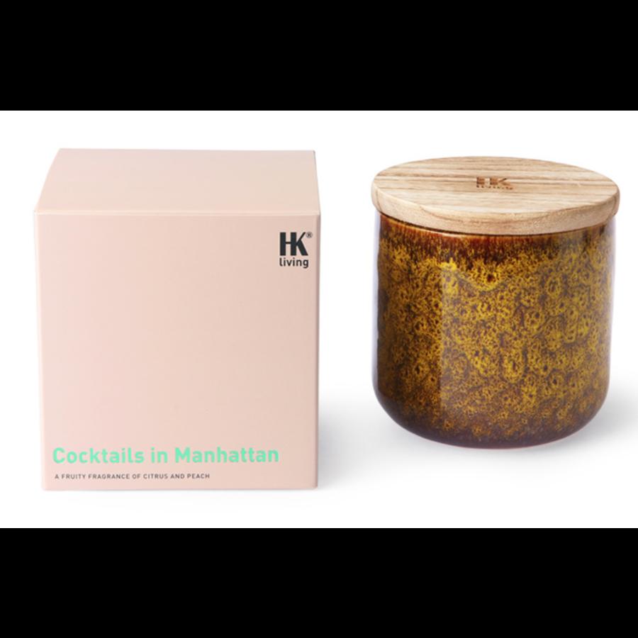ceramic scented candle: cocktails in manhattan-1