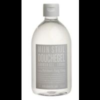 mijn stijl shower gel patchouli 500ml. grijs etiket