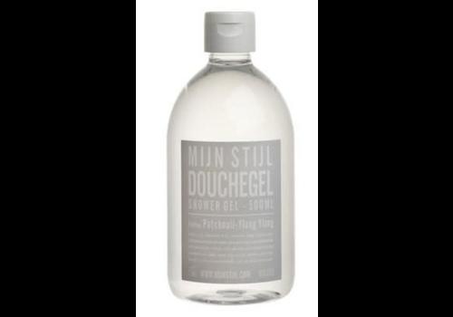 MIJN STIJL mijn stijl shower gel patchouli 500ml. grijs etiket