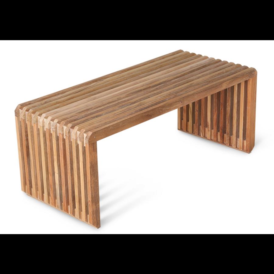 slatted bench teak MZM4986-1