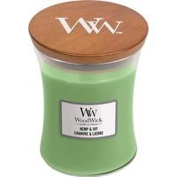 WoodWick hemp and ivy medium