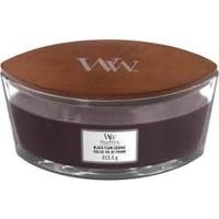 WoodWick black plum cognac ellipse