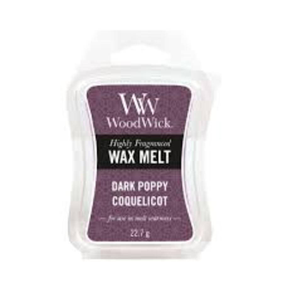 dark poppy Wax Melt-1