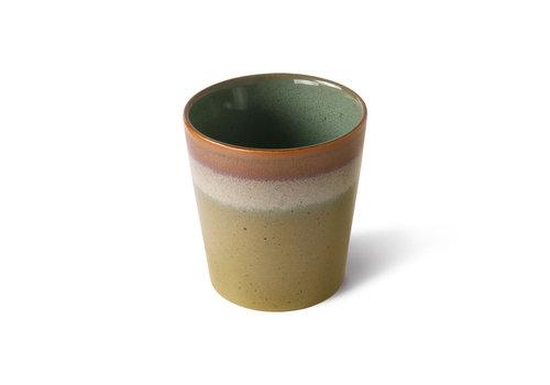 HKLIVING ceramics 70's coffee mug Peat ACE7004