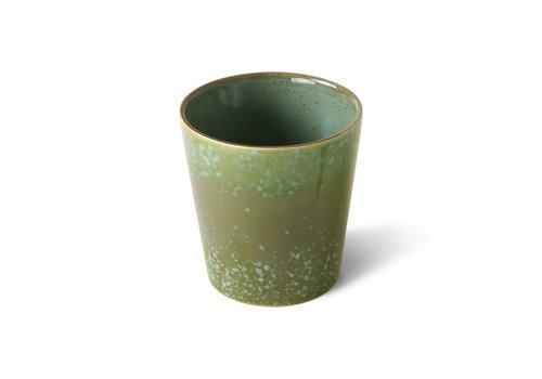 HKLIVING ceramics 70's coffee mug grass ACE7006