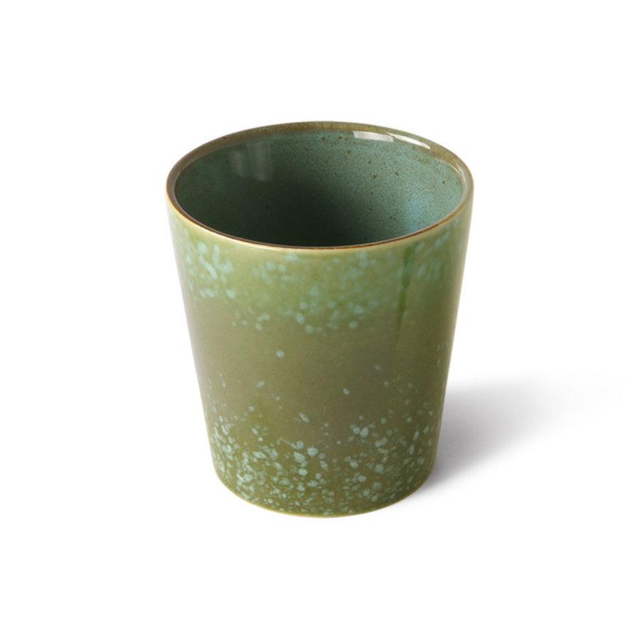 ceramics 70's coffee mug grass ACE7006-1