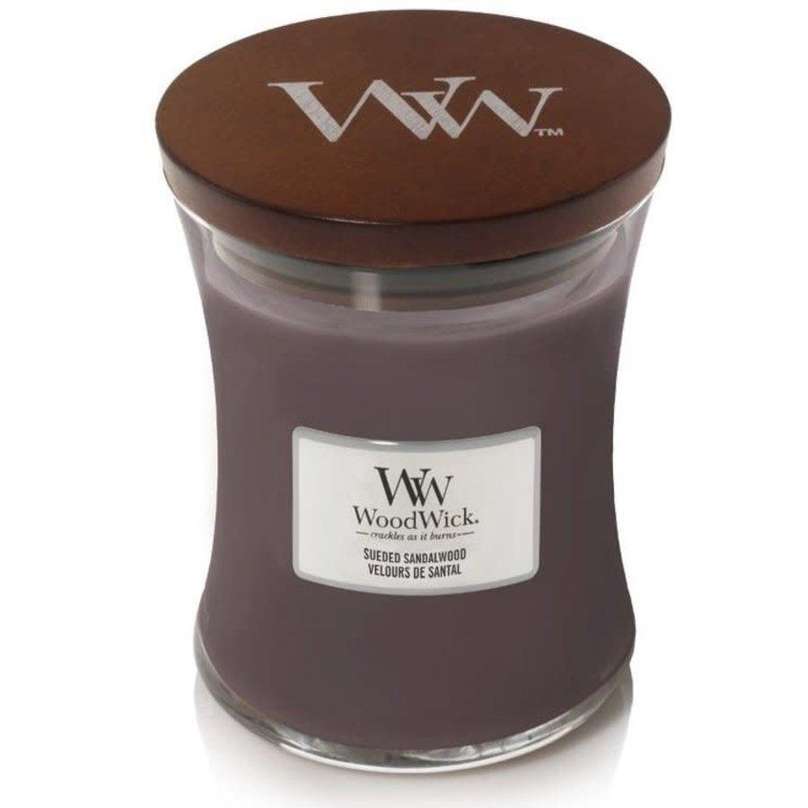 Sueded Sandalwood Medium Candle-1