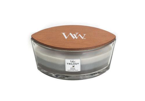 WOODWICK Trilogy Warm Woods Ellipse Candle