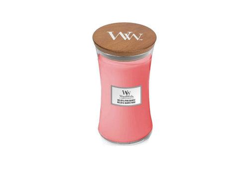 WOODWICK Melon & Pink Quartz Large Cand