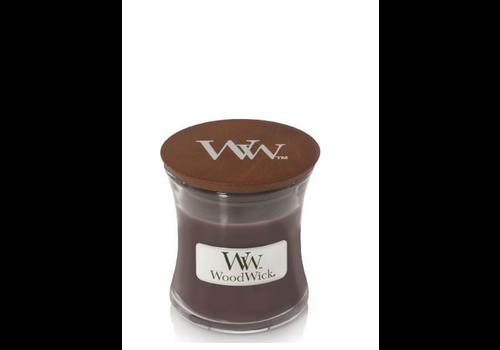 WOODWICK Sueded Sandalwood mini candle
