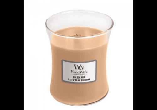 WOODWICK Golden Milk Medium Candle WW