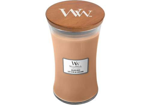 WOODWICK Golden Milk Large Candle WW