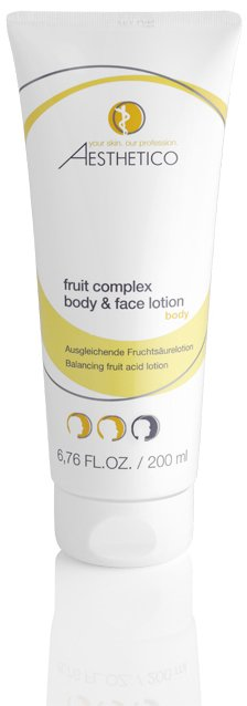 Aesthetico Aesthetico fruit complex body & face lotion 200ML