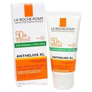 La Roche LA ROCHE POSAY ANTHELIOS Gel-Creme LSF 50 - Sonnencreme mit Anti-Glanz Effekt 50 ml