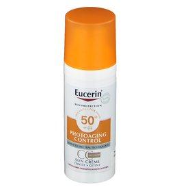 Eucerin Eucerin Sun Creme Gesicht getönt LSF 50+ Medium