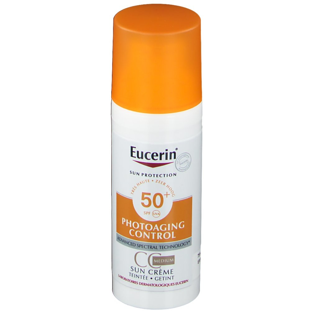 Eucerin Eucerin Sun Creme Gesicht getönt LSF 50+ Medium 50ml