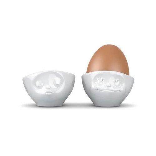 Tassen - eierdopjes - kussend & dromend