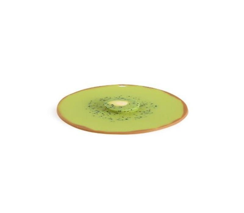 Charles Viancin - siliconen deksel - kiwi (20 cm.)